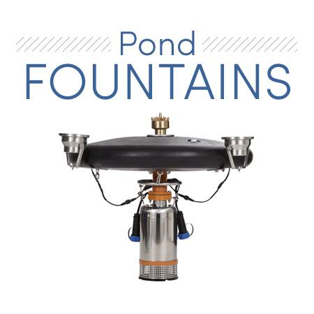 Nashville Pond Fountains