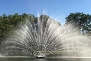Otterbine Giant 10 HP Aries Fountain