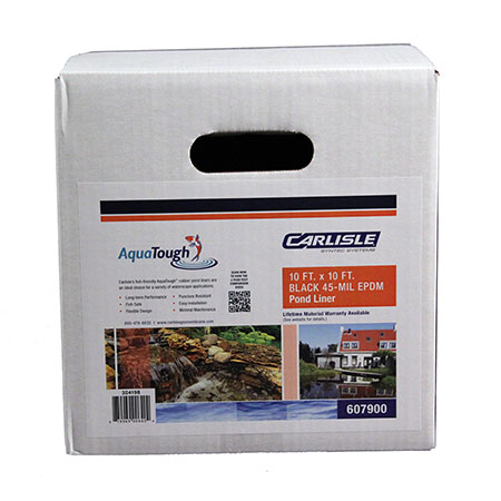 .045 AquaTough Pre-Cut Pond Liner - Boxed