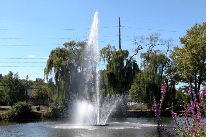 Otterbine Giant 10 HP Aqua Star Fountain