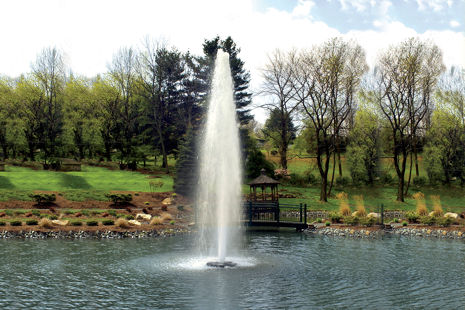 Otterbine Comet Floating Fountain