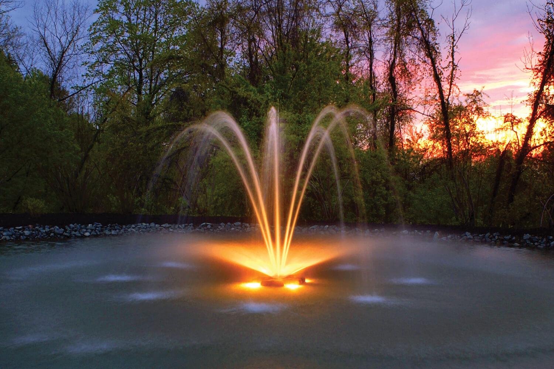 Otterbine Fountain Glow MR16 Low Voltage LED Pond Lighting - 6 Light Kit