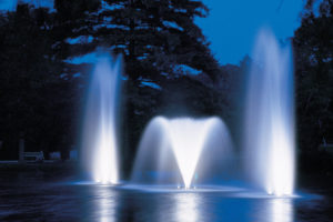 Otterbine Fountain Glow MR16 Low Voltage LED Pond Lighting - 8 Light Kit