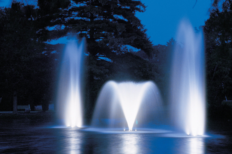 Otterbine Fountain Glow Mr16 Low Voltage Led Pond Lighting 8 Light Kit Nashville