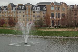 Otterbine Omega Floating Pond Fountain