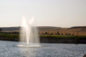 Otterbine Rocket Floating Pond Fountain
