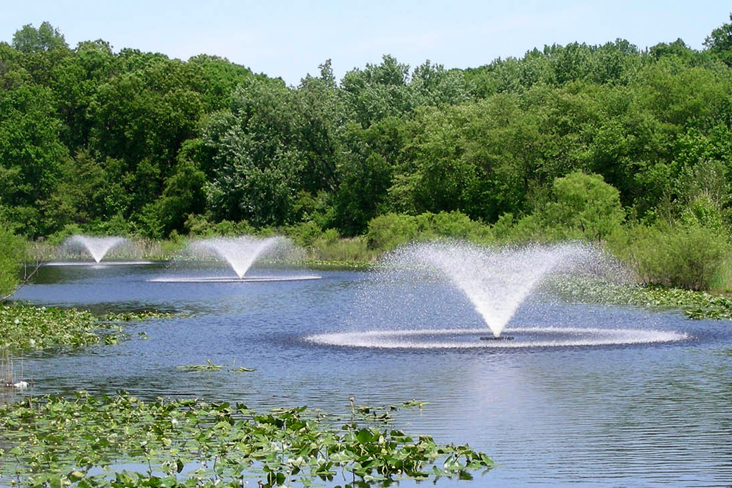 Otterbine Sun Burst Floating Pond Fountain