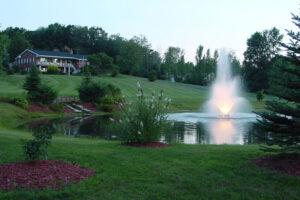 Otterbine Tri Star Floating Pond Fountain