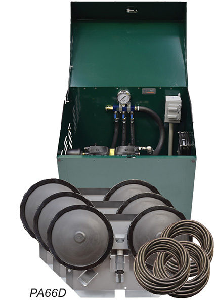 PA66DP Sentinel Deluxe Aeration System – Complete PA66W System with Post Mounted Cabinet