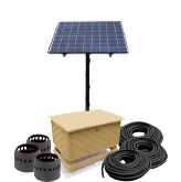 SPA-3B Solar Aeration System – Up to Three Acres